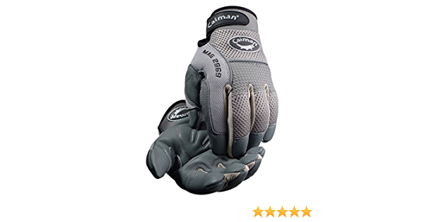Sheep Grain Padded Palm Knuckle Protection Mechanics Gloves