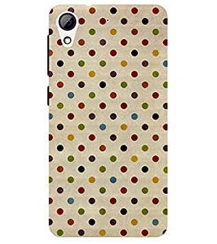 Chiraiyaa Designer Printed Premium Back Cover Case for HTC Desire 628  dot pattern   Multicolor  Cases   Covers