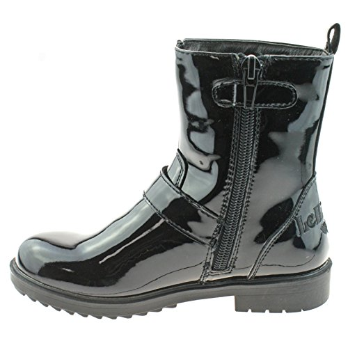 Ankle Lelli db01 uk Lk7408 32 Vernice Boots Star 13 Nero Kelly Dana w60Sxqfw