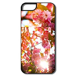 IPhone 5 5S Case, Bright Cheery White/black Protector For IPhone 5S