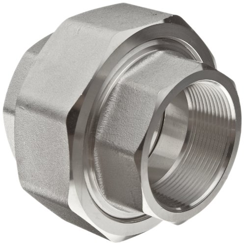 316/316L Forged Stainless Steel Pipe Fitting, Union, Class 3000, 3/4