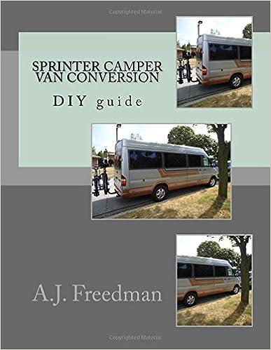 Sprinter van camper conversion DIY guide [Booklet]