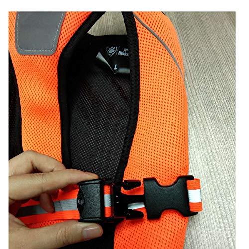 Dog Cooling Vest,Dog Cooling Coat,Evaporative Swamp Cooler Jacket Safety Reflective Vest for Large Dogs Walking Outdoor Hunting Training Camping Orange-L
