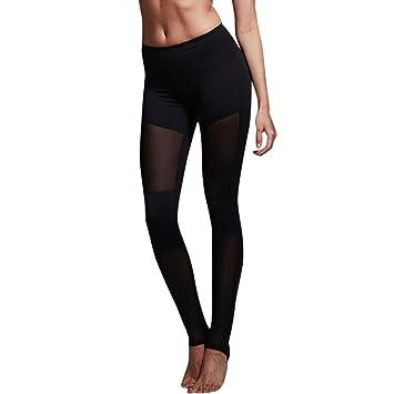 Manadlian Pantalon Yoga Femme Femmes Haute Taille Sports Gym Yoga