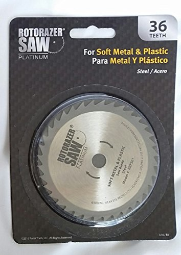 Price comparison product image Rotorazer Platinum Steel Saw Blade for Soft Metal & Plastic