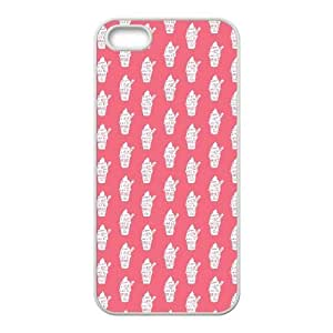 iPhone 4 4s Cell Phone Case White Without Ice Cream There Would Be Chaos TR2424564