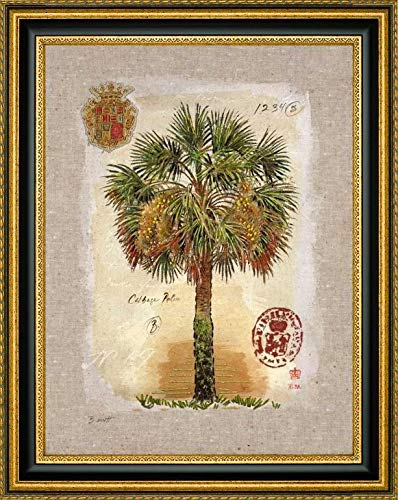 Linen Cabbage Palm Tree by Chad Barrett - 19.25