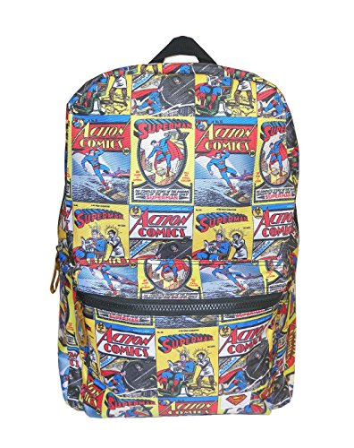 Unisex-Adultos - Official - Superman - Mochila