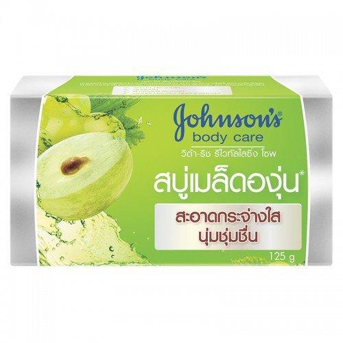 Johnsons body care Grapeseed Oil Vita-Rich Revitalising Soap 125 g. (Wash Revitalising)