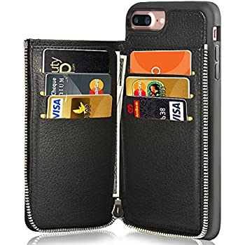 Amazon.com: iPhone 7 Plus Wallet Case, iPhone 8 Plus