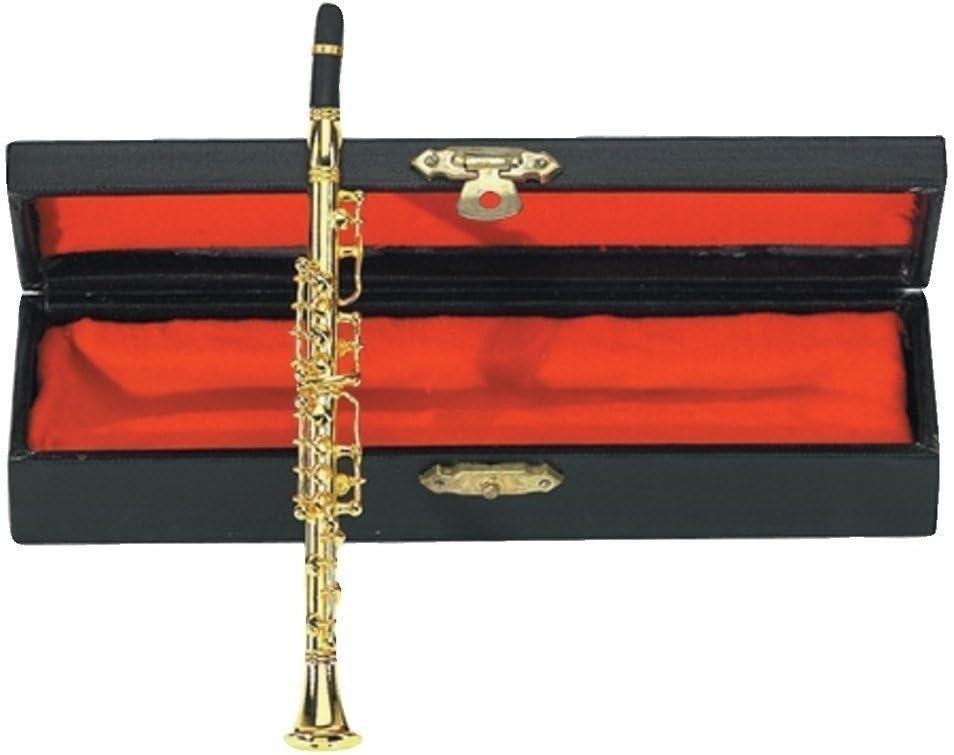 GEWA 980582 - Instrumentos en miniatura, clarinete con estuche, 15 cm: Amazon.es: Instrumentos musicales