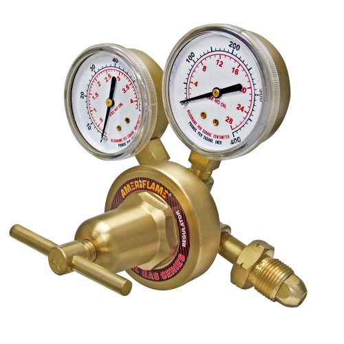 Ameriflame R361-510 Heavy Duty Single Stage LP Gas Regulator with CGA510 Inlet by Ameriflame