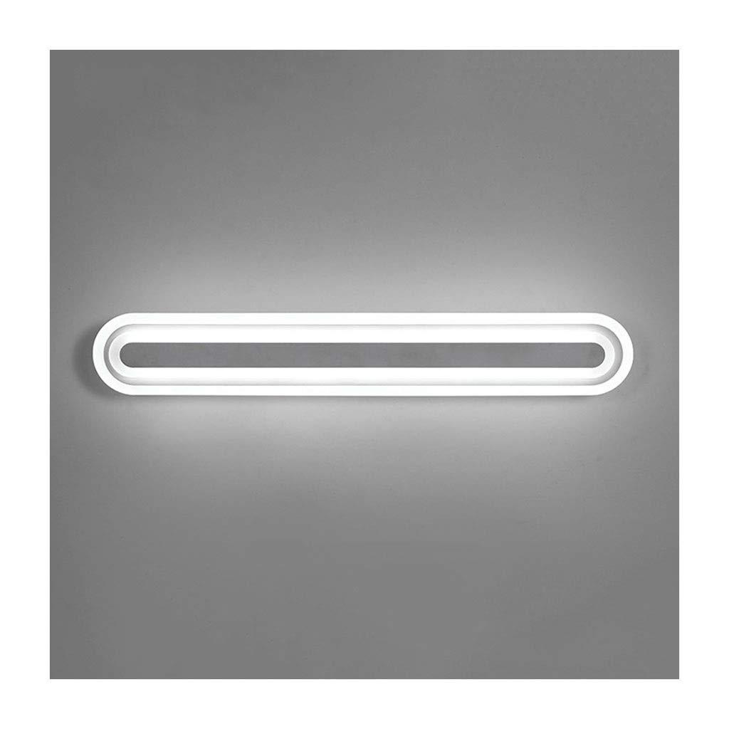 @Badezimmer Lichter LED Wandleuchte Spiegel Scheinwerfer Bad Anti-fog Wasserdichte Spiegel Kabinett Licht Make-Up Lampe Nachttischlampe Deckenleuchte (Farbe   weißes Licht-40cm)