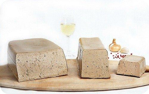 Goose Liver Mousse with Sauternes | Mousse Royale au Sauternes by Les Trois Petits Cochons - 8 oz (Pack of 6) ()