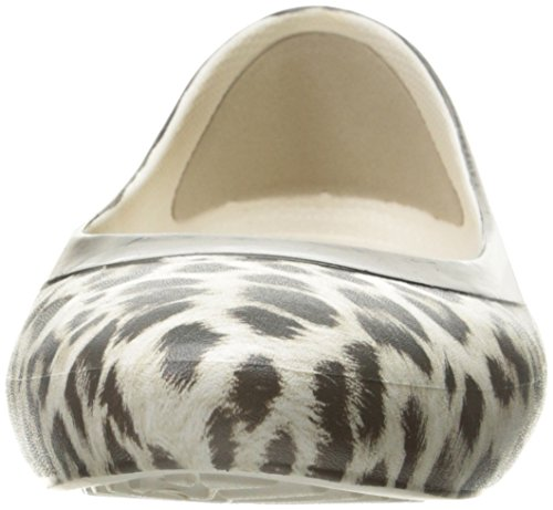 Femme Flat Crocs Multicolore Graphic Leopard oyster Ballerines oyster leopard Lina qaaw4vHI