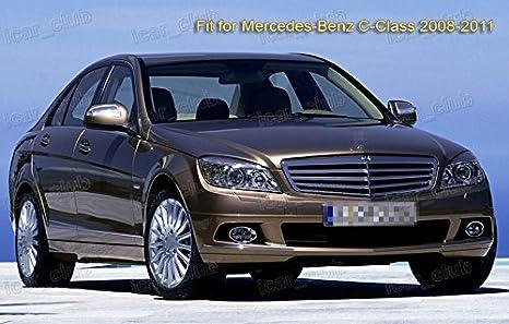 2pcs coche delantero parabrisas escobilla Bracketless para Benz Clase C 2008 - 2011: Amazon.es: Coche y moto