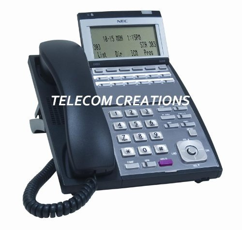 NEC UX5000 IP-12e ~ IP 12-Button Display Phone Black Part# 0910064 IP3NA-12TIXH by NEC UX