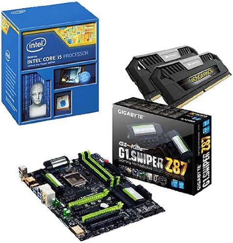 Gigabyte BB24 - G1 Sniper Z87 - Pack con Placa Base, Memoria RAM y procesador (Intel Core i5-4270K 3.4 GHz, 8 GB RAM, SATA, 4 x USB 3.0): Amazon.es: Informática