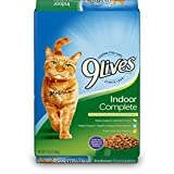 indoor cat food friskies - 9Lives Indoor Complete Dry Cat Food, 12-Pound