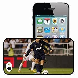 Personalized iPhone 4 4S Cell phone Case/Cover Skin Ronaldo Strike Black