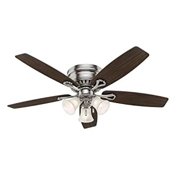 Hunter classic series oakhurst ceiling fan amazon hunter classic series oakhurst ceiling fan mozeypictures Image collections