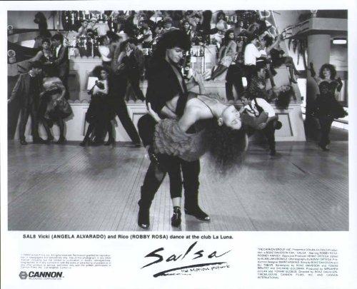 Angela Alvardo Robby Rosa Salsa 1988 8x10