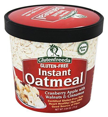 Glutenfreeda - Instant Oatmeal Cup Cranberry Apple with Walnuts & Cinnamon - 2.64 oz. (pack of 2)