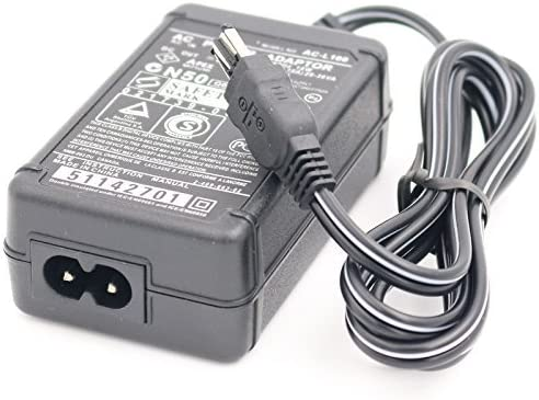 HZQDLN AC Adapter Charger for Sony Handycam DCR-DVD7 DCR-DVD403 DCR-DVD403E DCR-DVD405E