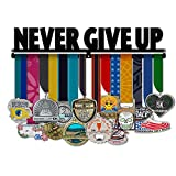 Never Give Up - Medal Hanger