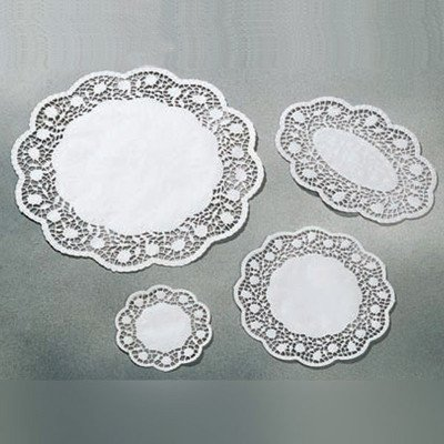 Well Dia (Paper Doily with 250 Pieces Size: Overall Dia 8 5/8
