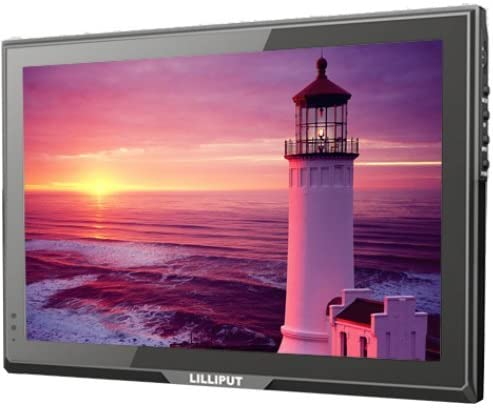 LILLIPUT 10.1 FA1014-NP//C 16:9 IPS 1280X800 LCD Monitor with HDMI DVI VGA and Composite Input