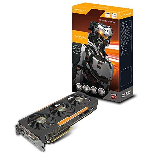 Sapphire 11241-00-20G AMD Radeon R9 390X Tri-X Grafikkarte (2x PCI-e, 8GB GDDR5 Speicher, DVI, HDMI, DisplayPort)