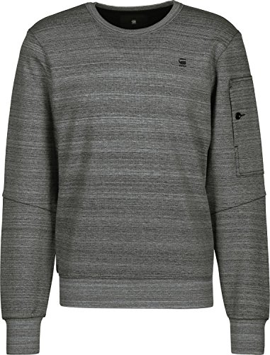 G star Sw Chiné Sweat Gris Raw Stalt R BBWrqd