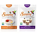 Swerve Sweetener, Bakers Bundle, 12oz / 340g Granular and Confectioners