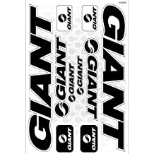 Giant Bicycle Frame Decals Stickers Graphic Set Vinyl Adesivi (Model B)