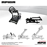 APIGA AP2 Foldable Racing Simulator Stand plus