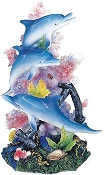 StealStreet SS-G-90101 Marine Life Dolphin Design Figurine Statue