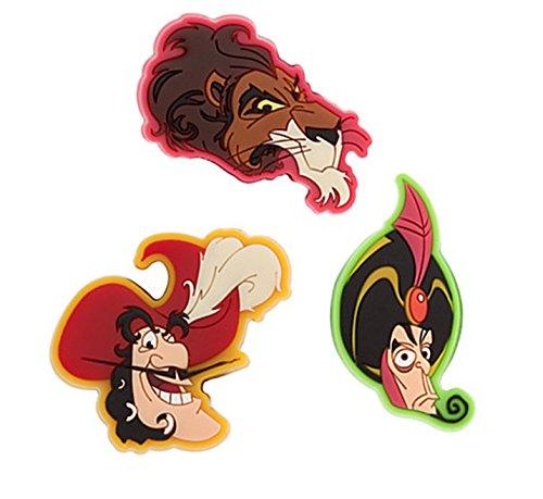 Disney Parks Male Villains MagicBandits Set of 3: Jafar, Scar, Captain Hook - Magic Band -