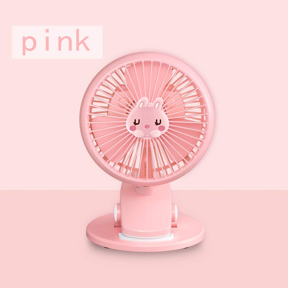 LIPAI Fan Mini Fan Usb Rechargeable Silent Portable Home Office Desktop Outdoor Small Fan