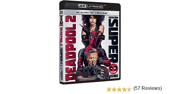 Deadpool 2 Blu-Ray Uhd Versión Super $@%!# Grande Blu-ray ...