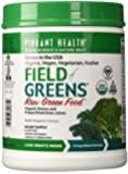 Vibrant Health - Field of Greens, 100% Organic Greens and Freeze Dried Grass Juices, 60 servings (FFP)