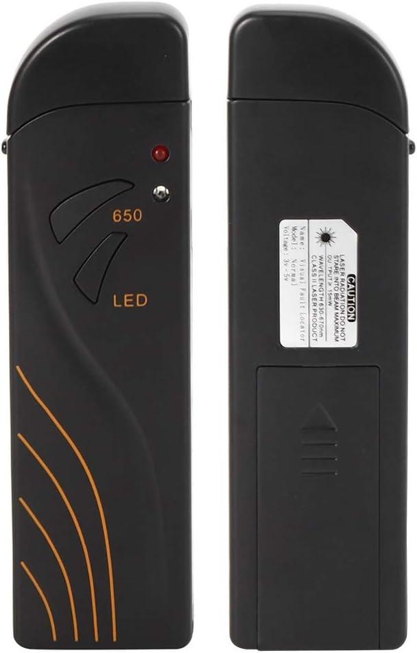 Penna per test in fibra ottica con localizzatore visivo di guasti da 15 MW Penna ricaricabile per controllo sorgente di luce rossa