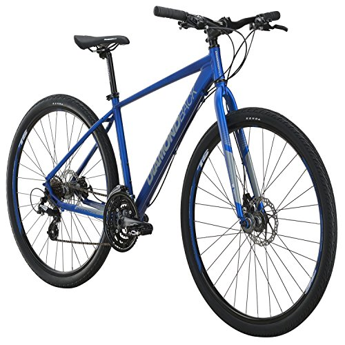 Diamondback Trace Street Hybrid Bike - 2016 Performance Exclusive SMALL BLUE