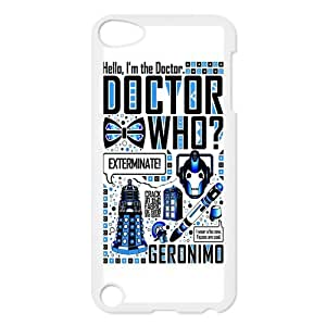 iPod 5 Case,Dr.Who Quotes Hard Snap-On Cover Case for iPod Touch 5, 5G (5th Generation)