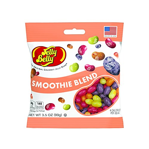 Jelly Belly Smoothie Blend Jelly Beans, 5 Fruit Smoothie Fla