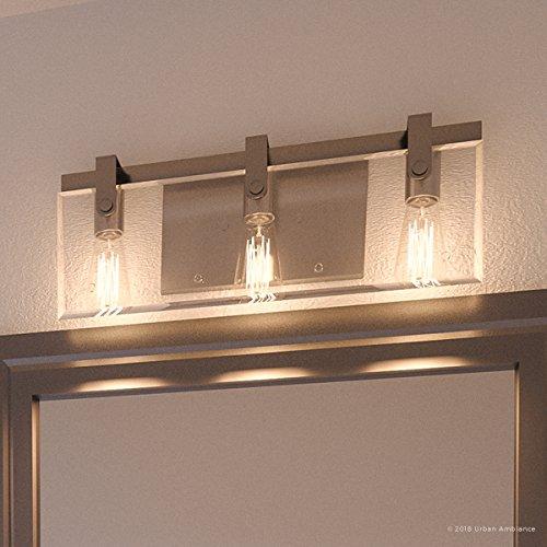 Luxury Modern Farmhouse Bathroom Vanity Light, Medium Size: 8.38