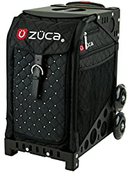 Zuca Mystic Sport Insert Bag and Black Frame with Flashing Wheels