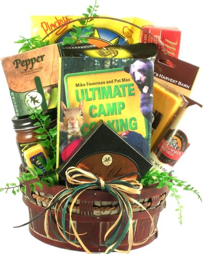 Happy Camping! | Fun Camping Gourmet Gift Basket for the Outdoors (Outdoor Gift Basket)