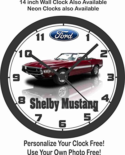 1969 FORD SHELBY MUSTANG GT500 WALL CLOCK-FREE USA SHIP (Clock Wall Honda)