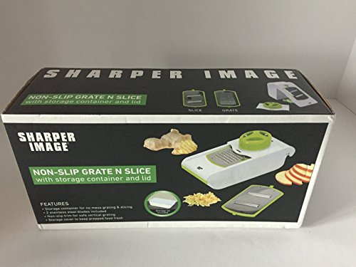 Sharper Image Grate Storage Container